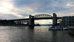 Burrard Bridge - Vancouver, BC (The Web Ninja) Tags: travel bridge sunset sun canada mountains vancouver canon photography photo bc dusk explorer rocky columbia canadian explore photograph british burrard traveling traveler vancity 70d explored canon70d