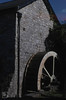 Water wheel on Nant Whitton, Llancarfon 1978 (Mary Gillham Archive Project) Tags: 1978 historyarchaeology landscape llancarfan st051702 wales 3583
