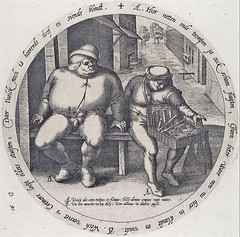 Every pedlar praises his own wares (but he always exaggerates) (petrus.agricola) Tags: twelve proverbs flemish dutch after pieter bruegel elder etching probably hieronymus wierix jeronymus
