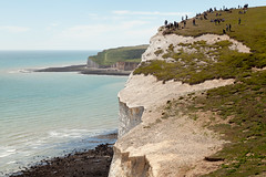Lemmings | Seven Sisters walk | July 2016-36 (Paul Dykes) Tags: southdowns southdownsway southcoast coast cliffs sea shore coastal englishchannel sussex england uk seaside sun sunnyday chalk downs hills countryside