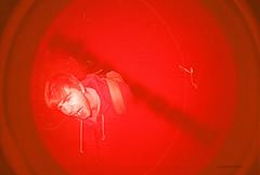 Fisheye Portrait (35mm) (Fraser Phrase) Tags: portrait film 35mm lomo lomography toycamera fisheye tonal yyj toyphotography