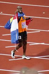 Martina winner 100 meter #ECH2016 (rikbuitenwerf) Tags: amsterdam championship athletics european stadium ek olympic stadion olympisch atletiek 2016 europese kampioenschap ech kampioenschappen ech2016
