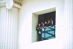 From Above (Marta Marcato) Tags: school students white british museum reflection boy boys london scuola studenti bianco museo riflesso ragazzi uniformi uniform londra nikond7200