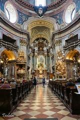 Peterskirche - Wien (Txulalai) Tags: vienna wien travel church austria arquitectura monumento sony iglesia kirche viena barroco peterskirche sonyalpha6000 sonya6000 sonyilce6000