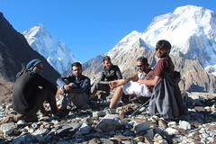 Camp VI - Concordia (Muhammad Hassan Jan Yousafzai) Tags: skardu siachen pakistan k2 baltoro glacier gilgit baltistan base camp broad kmc khyber medical college peshawar