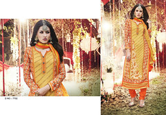 D No. 7702 (Libas B2B) Tags: georgette digital print salwarkameez