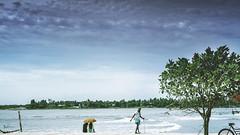 """ Reminiscence "" (Robins Mathew Z) Tags: kerala emotion people india kochi fortkochi peopleandplaces colours travel travelphotography clouds sea beach beachlife"
