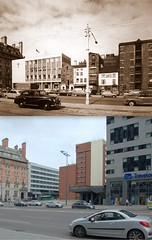 The Strand, 1960s and 2016 (Keithjones84) Tags: liverpool oldliverpool merseyside thenandnow architecture history rephotography