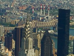 View from Empire State Buliding!! (NP Photo2010) Tags: iphone historical empirestatebuilding usa eastcoast chryslerbuilding newyorkcity