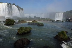 Iguazu falls (Julien Falissard) Tags: iguazu falls waterfall water eau chutes cascades tourism arc en ciel raimbow nature brsil brazil