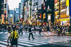 Shibuya Crossing (baohuy_111995) Tags: shibuya tokyo japan