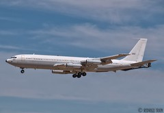 ISRAEL AIR FORCE 260 . Boeing 707. (Rodrigo Tran Corts) Tags: boeing zaragoza boeing707 spain spotting canon airforce