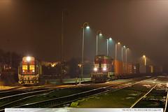 742.203-3 + 742.247-0 | tra 331 | Lpa n.D. (jirka.zapalka) Tags: train trat331 rada742 cdcargo stanice night lipanaddrevnici