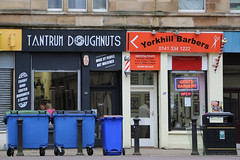 Tantrum Doughnuts (skron) Tags: glasgow storefronts doughnuts barber stores