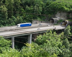 REU380 Autobahn A2 Brcke (Motor Highway E35 Bridge) over the Reuss River, Gurtnellen, Canton Uri, Switzerland (jag9889) Tags: 2016 20160803 a2 alpine autobahn bridge bridges brcke ch cantonofuri centralswitzerland crossing europe gurtnellen helvetia highway infrastructure innerschweiz kantonuri motorhighway motorway outdoor pont ponte puente reuss river roadbridge schweiz suisse suiza suizra svizzera swiss switzerland uri water waterway zentralschweiz jag9889