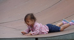 Robyn at the Skatepark (Peter Ashton aka peamasher) Tags: child children grandchild granddaughter robyn