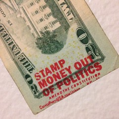 From work (evil robot 6) Tags: money stamp politics