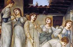 Edward Burne-Jones 'The golden stairs' 1880 (detail) (ArtTrinArt!!) Tags: sir edward burnejones 18331898