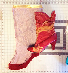 Boots3 (Kristin Brenemen) Tags: costume cosplay boot tutorial bootcovers sewing red hannah wyldkysscostumes