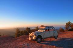 IMG_0685 (RCWH) Tags: sunrise morning landscape balearics summer views sky classic citroen 2cv
