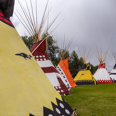 Indian Village (Cat Starr) Tags: copyrightcatherinestarr alberta canada calgary calgarystampede indianvillage treatyseven