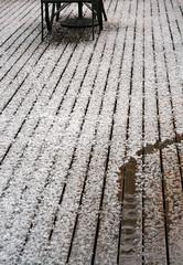 The Week Before Spring (graeme37) Tags: hail deck hailondeck coldweather
