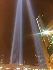 IMG_0359 (gundust™) Tags: nyc ny usa september 2016 newyork newyorkcity manhattan architecture wtc worldtradecenter september11th 911 tributeinlight xeon twintowers memorial remembrance night
