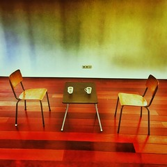 Ready for a coffee brake (Ruud Otter) Tags: stoel iphone abstract koffie coffee chair