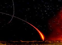 Antares Rocket Launch - Chincoteague (MurrayH77) Tags: rocket launch night chincoteague cape may stars starstax nasa wallops island va nj