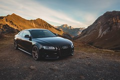 Autumn (Markus Holzer) Tags: transportation street car automotivephotography carphotography autumn furkajoch furka landscape mountains audilover rs5 s5 sline quattro a5 audia5 audi