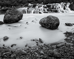 Iceland Hraunfossar I (Gustaf_E) Tags: berg canyon fjll hraunfossar iceland island landscape landskap ravin scandinavia sommar vattenfall waterfall