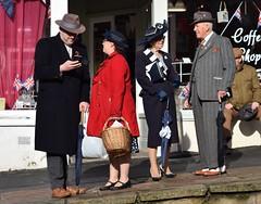 DSC_0393a (robindefoe2009) Tags: nymr wartime weekend 1940s heritage steam railway north yorks moors pickering levisham le visham goathland grosmont whitby stockings military reenactment reenactors