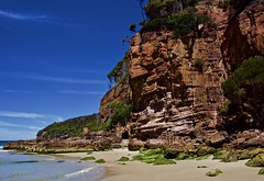 Headland cliff (jack eastlake) Tags: sea seascape tasman far south coast nsw eden wonboyn bega valley shire nadgee reserve park wild beaches beach nikon d810 greenglade picnic area