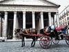 Aspettando clienti - Waiting for customers (Davide Cherubini) Tags: roma rome cavallo horse carrozza carrozzella botticella caballo pantheon bellitalia italia italy
