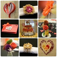Busy hands (PhotosbyDi) Tags: wedding cards flowers decoration decor servietterings hessian burlap cake heart nikond600 nikonf282470mmlens collage picmonkey handcrafts handcraft