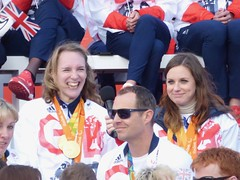 Sophie Christiansen and Natasha Baker (Suede Bicycle) Tags: olympics rio rioolympics rio2016 olympicgames heroeswelcome trafalgarsquare summerolympics olympicparade paralympics rioparalympics