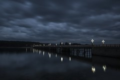 Anochecer en la Toja.... (T.I.T.A.) Tags: isladelatoja latojapuentedelatoja anochecer isla tormenta cielo nubes