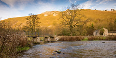 River Wye near Monsal Head (Stuart Feurtado) Tags: 1635 bridge d600 dale dales derbyshire farm farmhouse foliage footbridge nikon river stone tree viaduct water riverwye monsaldale