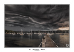 Clareville (John_Armytage) Tags: storm rain weather clouds sony australia nsw lightning bom northernbeaches stormcell clareville canon2470f28lusm clarevillebeach visitnsw johnarmytage sonya7r