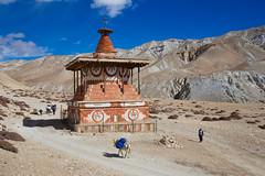 Sungda Chorten (jmhullot) Tags: nepal chorten mustang lomanthang tsarang