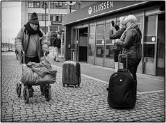Homeless (stejo) Tags: street stockholm homeless streetphoto slussen contrasts tunnelbana rollator hemlös gatufoto ilobsterit