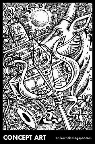 LORD SHIVA - DRAWING / SKETCH / DOODLES / ILLUSTRATION