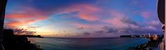 Trip to Guam-- the sunset (Steve only) Tags: sunset sea sky panorama cloud beach landscape dusk 5 cellphone guam nexus