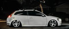 Volv-1 (Tyler Dillon) Tags: lightpainting cars night canon volvo 5d slammed stance bagged c30 volvoc30