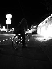 A biker is stopping. (-ICHIRO) Tags: street digital snap gr iv ricoh 21mm gw2
