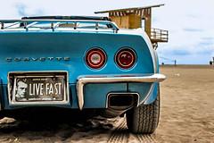 Corvette (Ariel.roldan.c) Tags: beach car speed costarica corvette