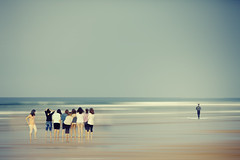 (idlphoto) Tags: girls sea beach water canon mar agua surf waves surfer playa chicas olas gipuzkoa zarautz canon70200f4lis idlphoto