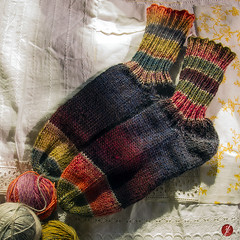 sockenliebe (bornschein) Tags: wool square handmade socken myhandmade