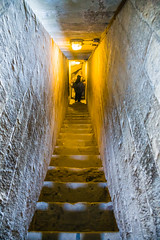 Descending the stairs of the Campanile (Raoul Pop) Tags: winter people italy stone stairs florence europe italia glow seasons masonry descent cities places it campanile tuscany firenze duomo toscana
