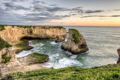 Dive (eCHstigma) Tags: ocean california sunset santacruz beach coast rocks waves pacific pentax davenport smc k3 pentaxda1645 pentaxk3